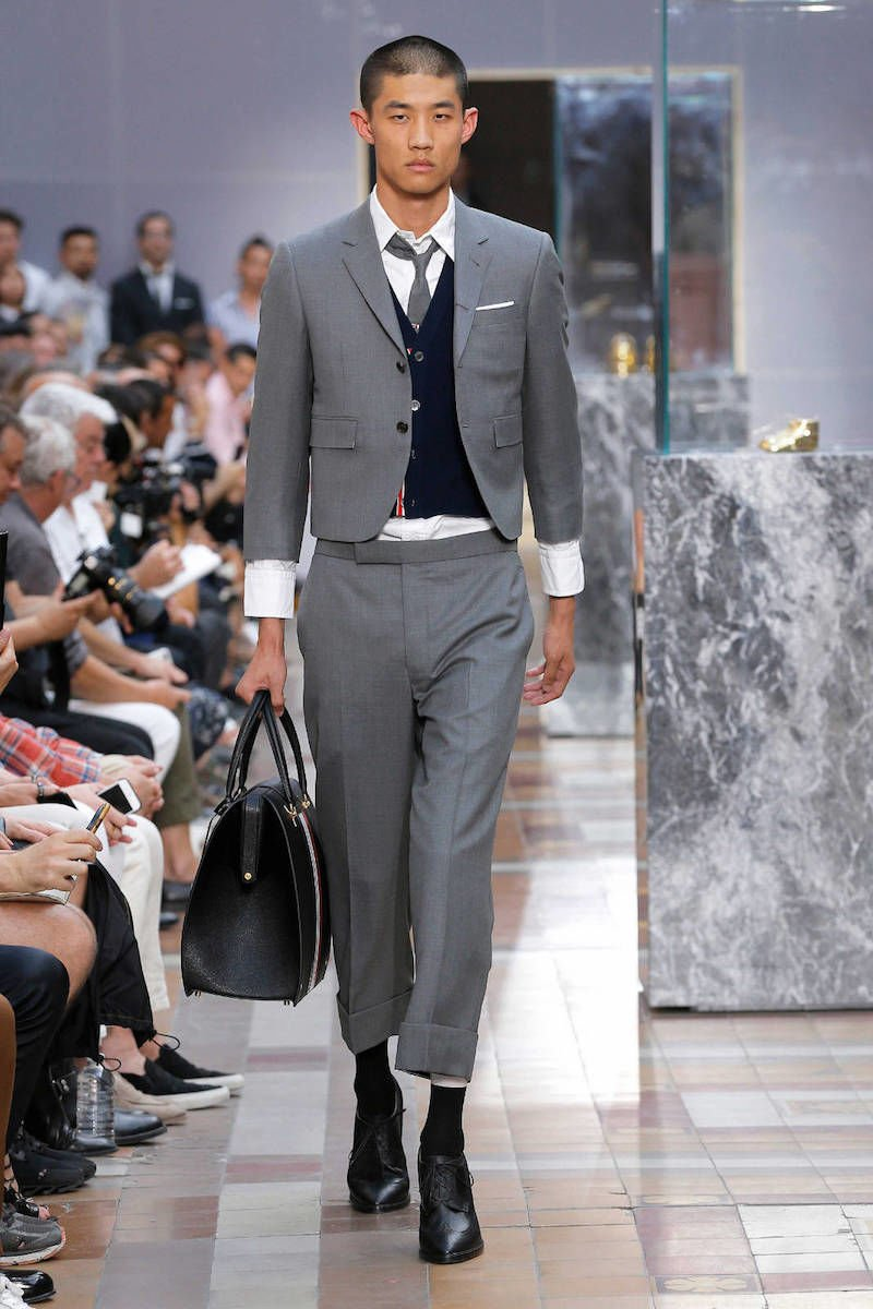 Thom Browne Mens Spring Summer 2018 Runway | Thom Browne