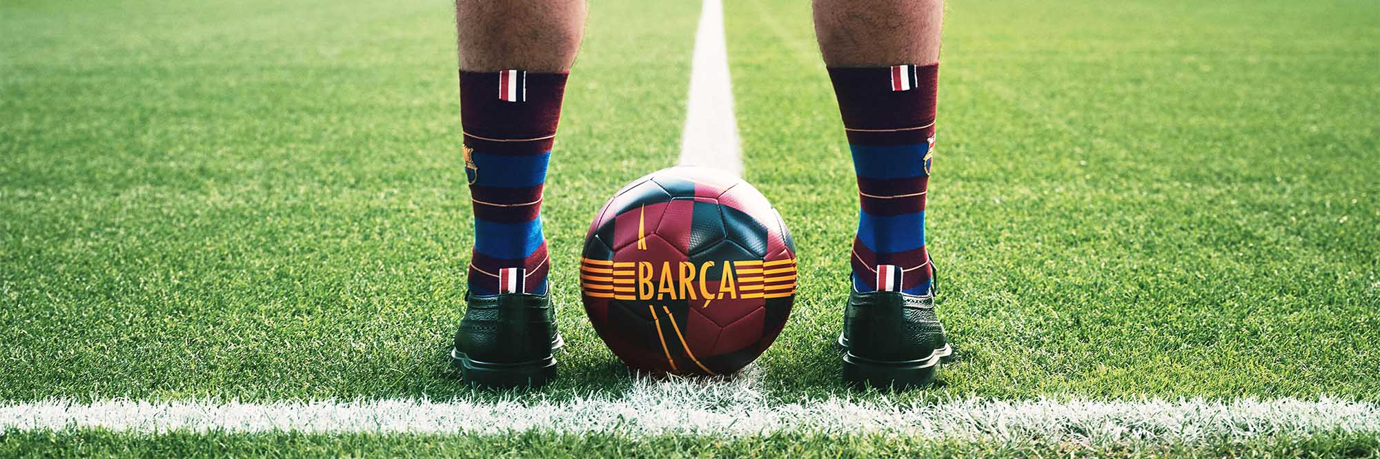 Discover Thom Browne FC Barcelona Capsule Collection