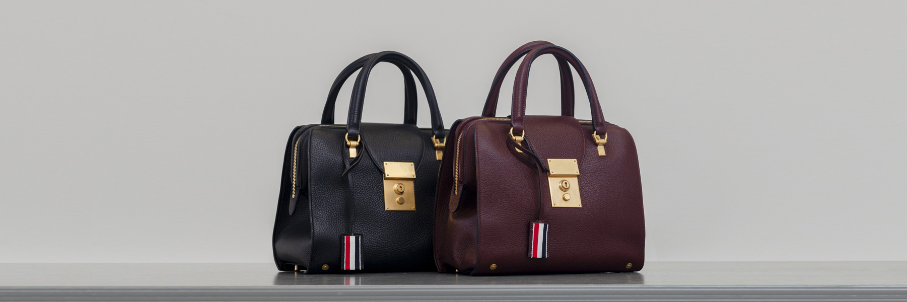 Shop Thom Browne Bags and Leather Goods