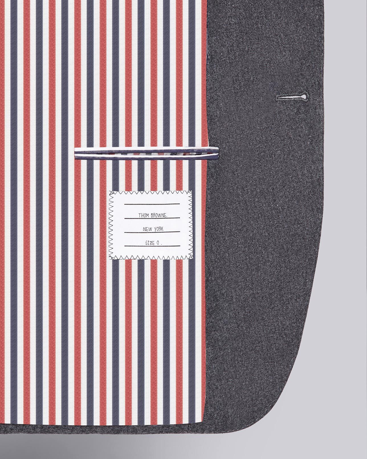 Discover Thom Browne Personalization and Customization.