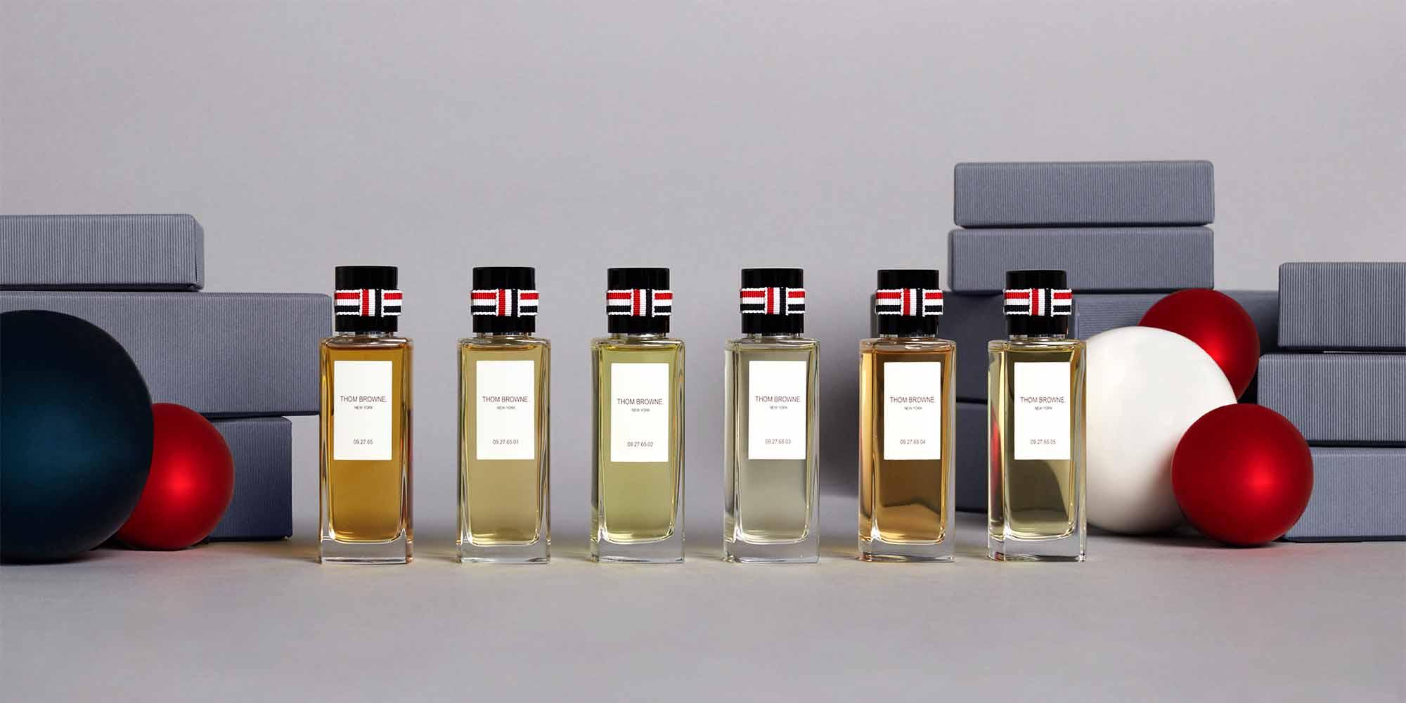 Discover Thom Browne Holiday Shop Mens and Womens Gifting. Discover Fragrance.