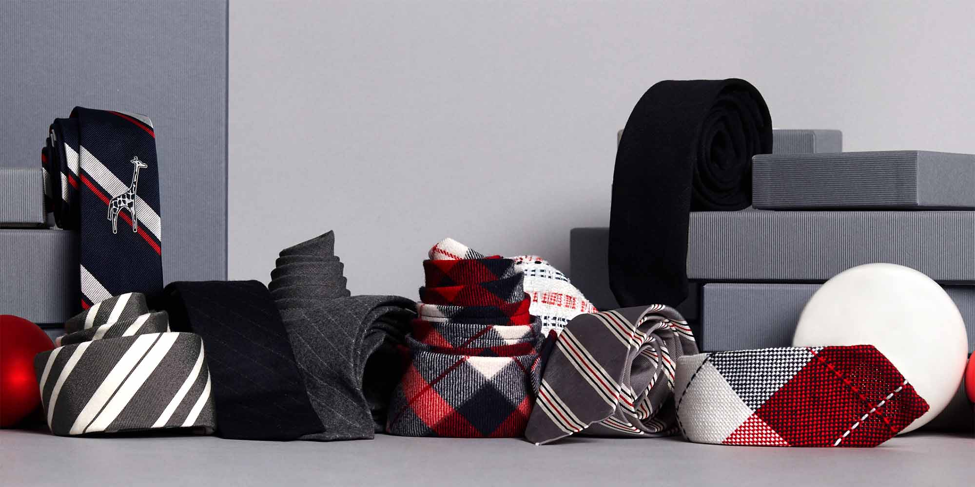 Discover Thom Browne Holiday Shop Mens and Womens Gifting